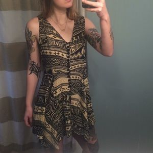 Witchy Print Dress